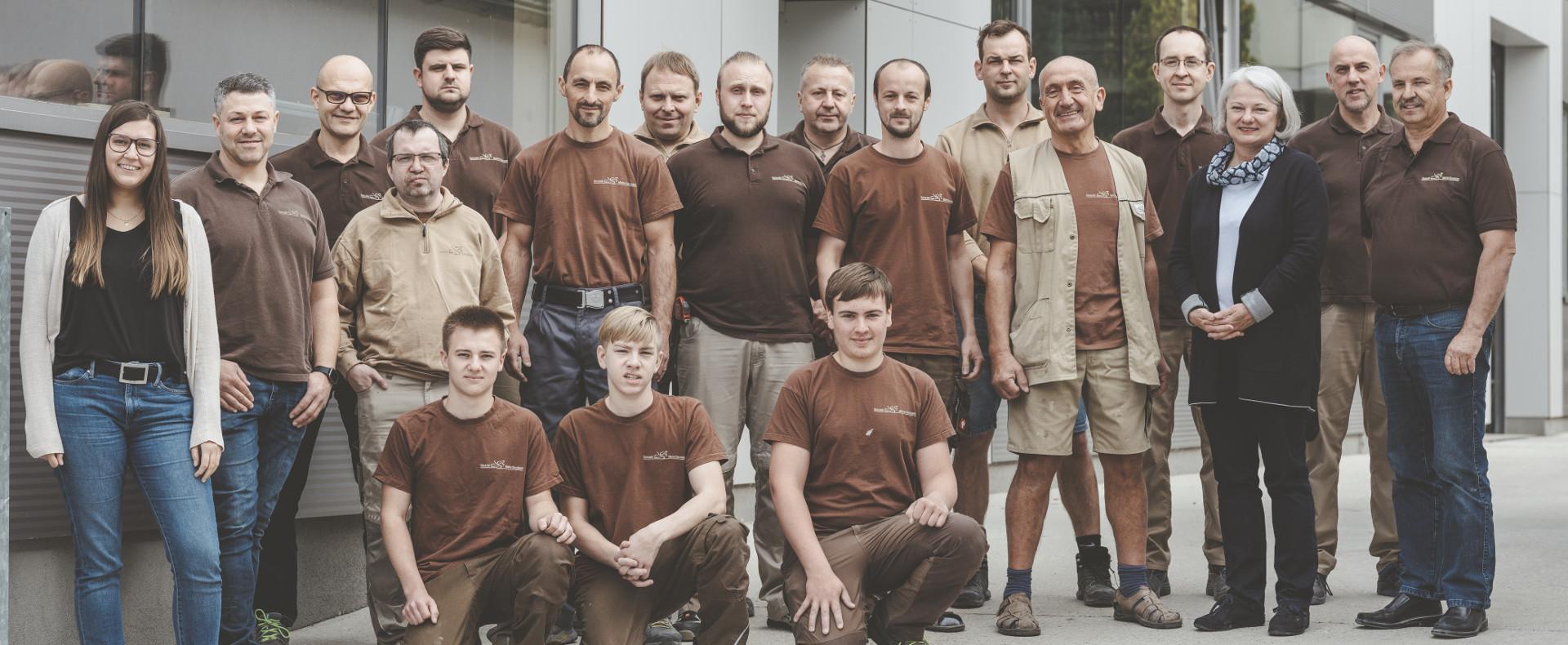 Das Team der Tischlerei Schlemmer